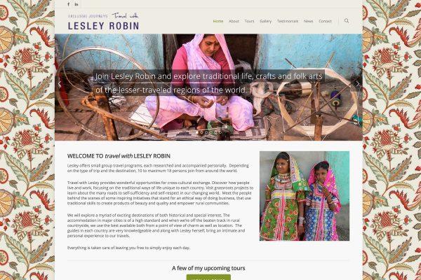Exclusive Journeys - Web Design