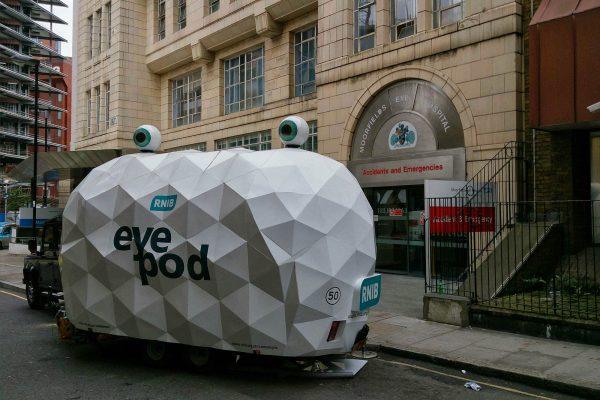 Eye Pod at Moorfields