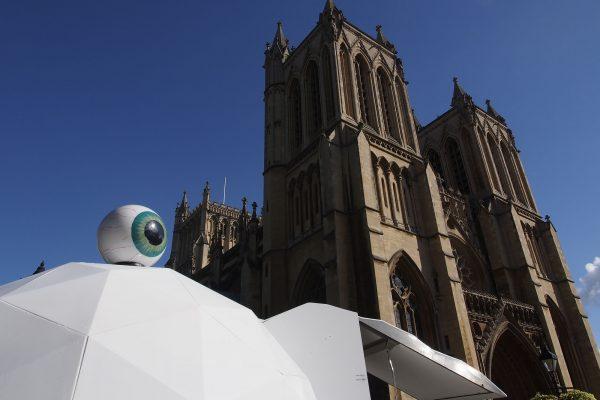 Eye Pod at Bristol Cathedral