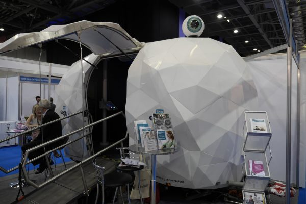 Eye Pod at Health+Care Conference