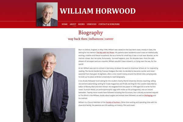 William Horwood - About