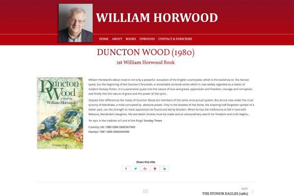William Horwood - Duncton Wood