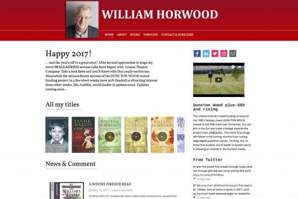 William Horwood - Web Design