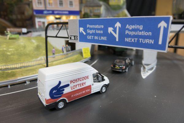 Automaton Postcode Lottery Van