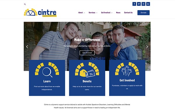 Cintre - Website and Digital Marketing